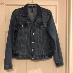 Gap Icon Denim Jacket- Dark Wash